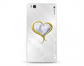Kryt NORDTEN Briliant hearth Huawei P8 lite silikonový
