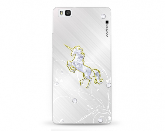 Kryt NORDTEN Briliant unicorn Huawei P8 lite silikonový