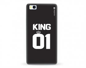 Kryt NORDTEN King 01 Huawei P8 lite silikonový