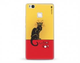 Kryt NORDTEN le chat noir Huawei P9 silikonový