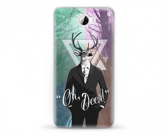 Kryt NORDTEN hipster oh deer Huawei Y5 II silikonový