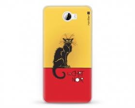 Kryt NORDTEN le chat noir Huawei Y5 II silikonový