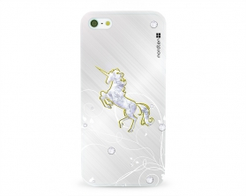 Kryt NORDTEN Briliant unicorn Apple iPhone 5/5S/SE silikonový