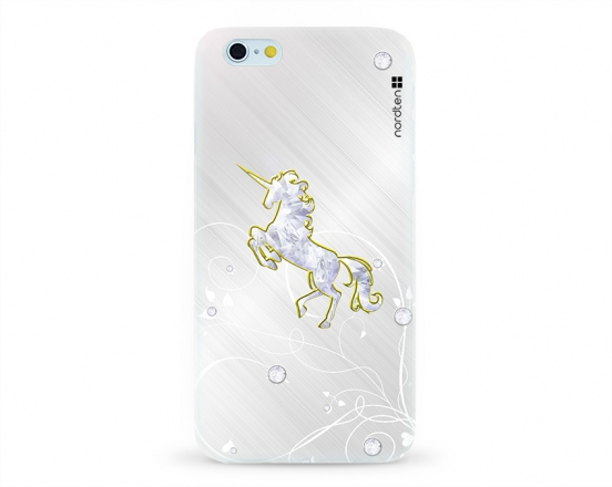 Kryt NORDTEN Briliant unicorn Apple iPhone 6/6S silikonový