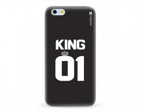 Kryt NORDTEN King 01 Apple iPhone 6/6S silikonový