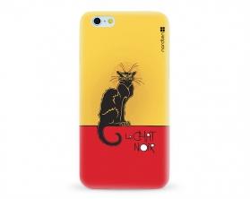 Kryt NORDTEN le chat noir Apple iPhone 6/6S silikonový
