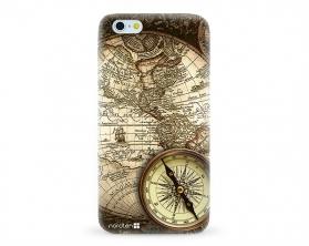Kryt NORDTEN Old map Apple iPhone 6/6S silikonový