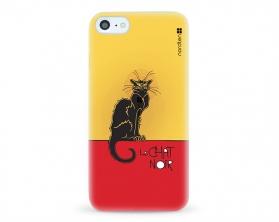 Kryt NORDTEN le chat noir Apple iPhone 7 silikonový