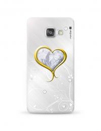 Kryt NORDTEN Briliant hearth Samsung Galaxy A3 silikonový