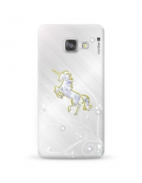 Kryt NORDTEN Briliant unicorn Samsung Galaxy A3 silikonový