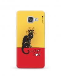 Kryt NORDTEN le chat noir Samsung Galaxy A3 silikonový