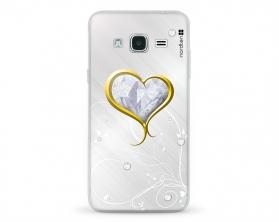 Kryt NORDTEN Briliant hearth Samsung Galaxy J3 silikonový