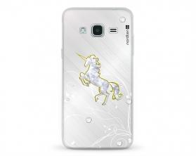 Kryt NORDTEN Briliant unicorn Samsung Galaxy J3 silikonový