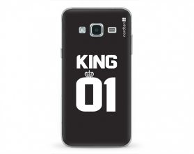 Kryt NORDTEN King 01 Samsung Galaxy J3 silikonový