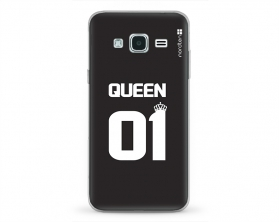 Kryt NORDTEN Queen 01 Samsung Galaxy J3 silikonový
