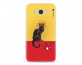 Kryt NORDTEN le chat noir Samsung Galaxy J5 silikonový