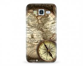 Kryt NORDTEN Old map Samsung Galaxy J5 silikonový