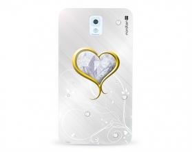 Kryt NORDTEN Briliant hearth Samsung Galaxy Note 3 silikonový