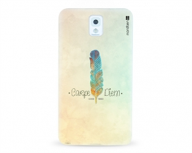 Kryt NORDTEN Carpe Diem Samsung Galaxy Note 3 silikonový