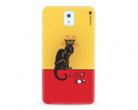 Kryt NORDTEN le chat noir Samsung Galaxy Note 3 silikonový