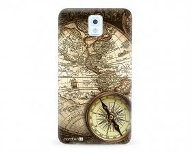 Kryt NORDTEN Old map Samsung Galaxy Note 3 silikonový