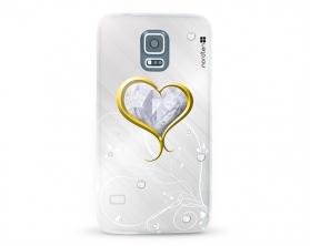 Kryt NORDTEN Briliant hearth Samsung Galaxy S5 silikonový