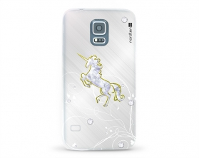 Kryt NORDTEN Briliant unicorn Samsung Galaxy S5 silikonový