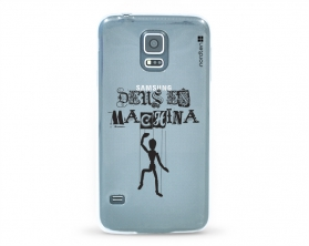 Kryt NORDTEN Deus ex machina Samsung Galaxy S5 silikonový