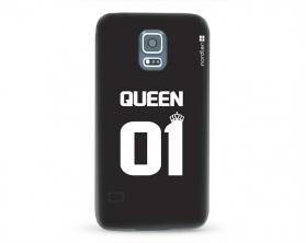 Kryt NORDTEN Queen 01 Samsung Galaxy S5 silikonový