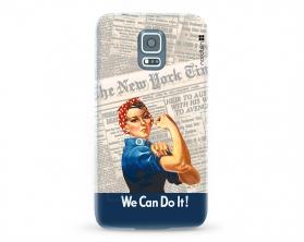 Kryt NORDTEN we can do it Samsung Galaxy S5 silikonový