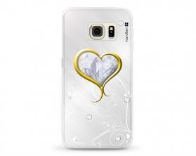 Kryt NORDTEN Briliant hearth Samsung Galaxy S6 Edge silikonový