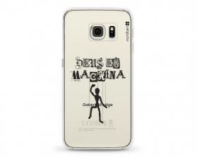 Kryt NORDTEN Deus ex machina Samsung Galaxy S6 Edge silikonový