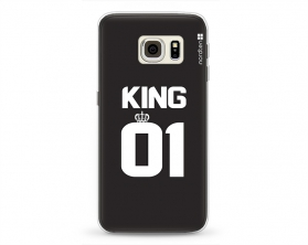 Kryt NORDTEN King 01 Samsung Galaxy S6 Edge silikonový