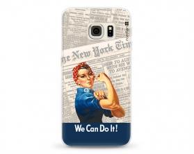 Kryt NORDTEN we can do it Samsung Galaxy S6 Edge silikonový