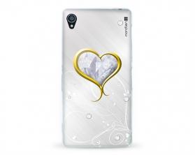 Kryt NORDTEN Briliant hearth Sony Xperia Z3 silikonový