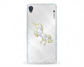 Kryt NORDTEN Briliant unicorn Sony Xperia Z3 silikonový