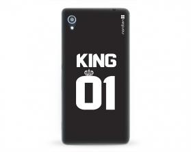 Kryt NORDTEN King 01 Sony Xperia M4 Aqua silikonový