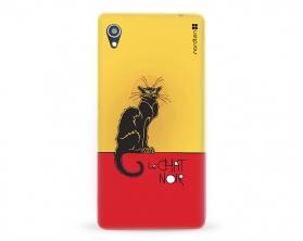 Kryt NORDTEN le chat noir Sony Xperia M4 Aqua silikonový