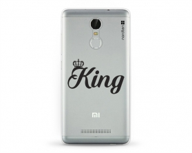 Kryt NORDTEN King Xiaomi Redmi Note 3 silikonový