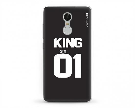 Kryt NORDTEN King 01 Xiaomi Redmi Note 3 silikonový