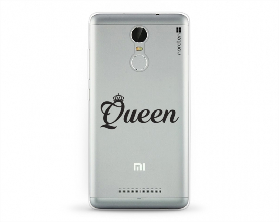Kryt NORDTEN Queen Xiaomi Redmi Note 3 silikonový