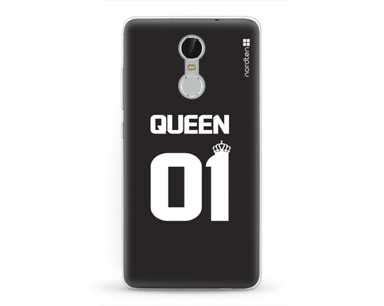 Kryt NORDTEN Queen 01 Xiaomi Redmi Note 3 silikonový