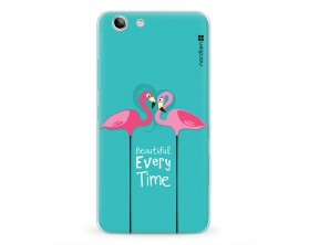 Kryt NORDTEN flamingo beautiful every time Lenovo K5 silikonový
