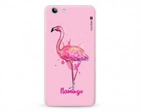 Kryt NORDTEN flamingo watercolor Lenovo K5 silikonový