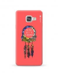 Kryt NORDTEN Dreamcatcher pink Samsung Galaxy A3 silikonový