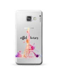 Kryt NORDTEN Eiffel tower Samsung Galaxy A3 silikonový