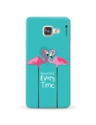 Kryt NORDTEN flamingo beautiful every time Samsung Galaxy A3 silikonový