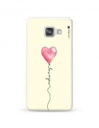 Kryt NORDTEN love you baloon Samsung Galaxy A3 silikonový