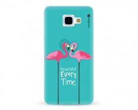 Kryt NORDTEN flamingo beautiful every time Samsung Galaxy A5 2016 silikonový