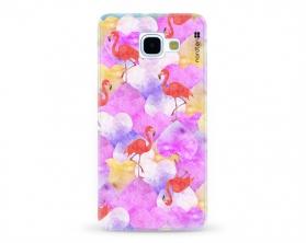 Kryt NORDTEN flamingo hearts Samsung Galaxy A5 2016 silikonový
